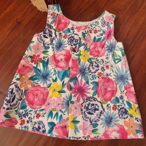 Zara Baby Girl Toddler Dress Flowers